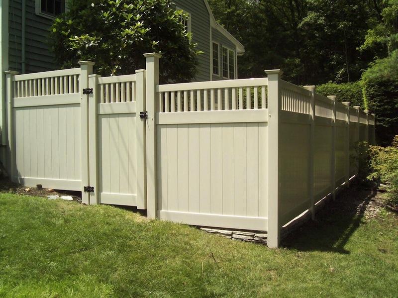 Pvc Privacy Fencing Fencetastic