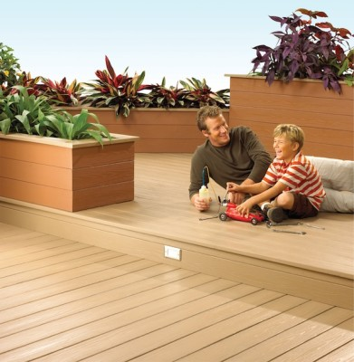 PVC Decking and Planter Boxes