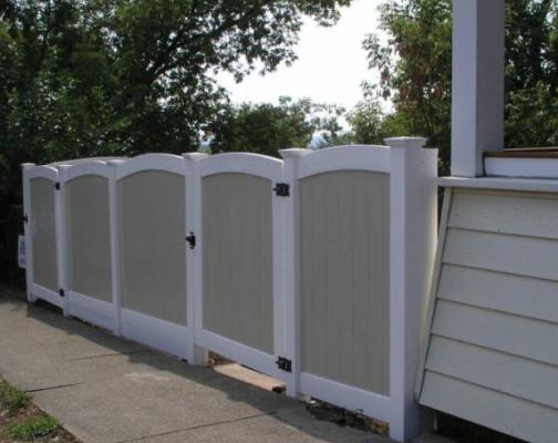 FP-HEA decorative top rail
