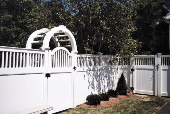FP-HEC arbor and gates