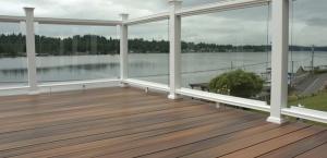 PVC Deck, balustrade & pexi-glass