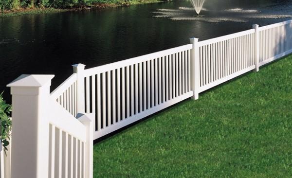 PVC Fence Style FPK-HAA1