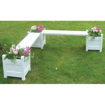 Planter box and seat