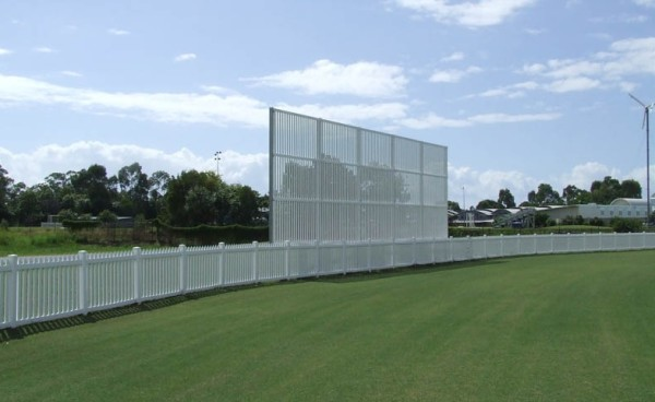 pvc-fence-cricket ground