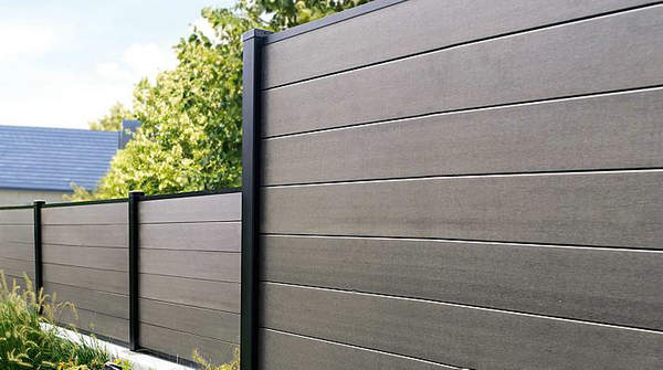 Wpc fence fencetastic for Cheap decking boards uk
